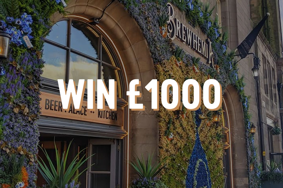 Win £1000 at Brewhemia Edinburgh this Festival Fringe