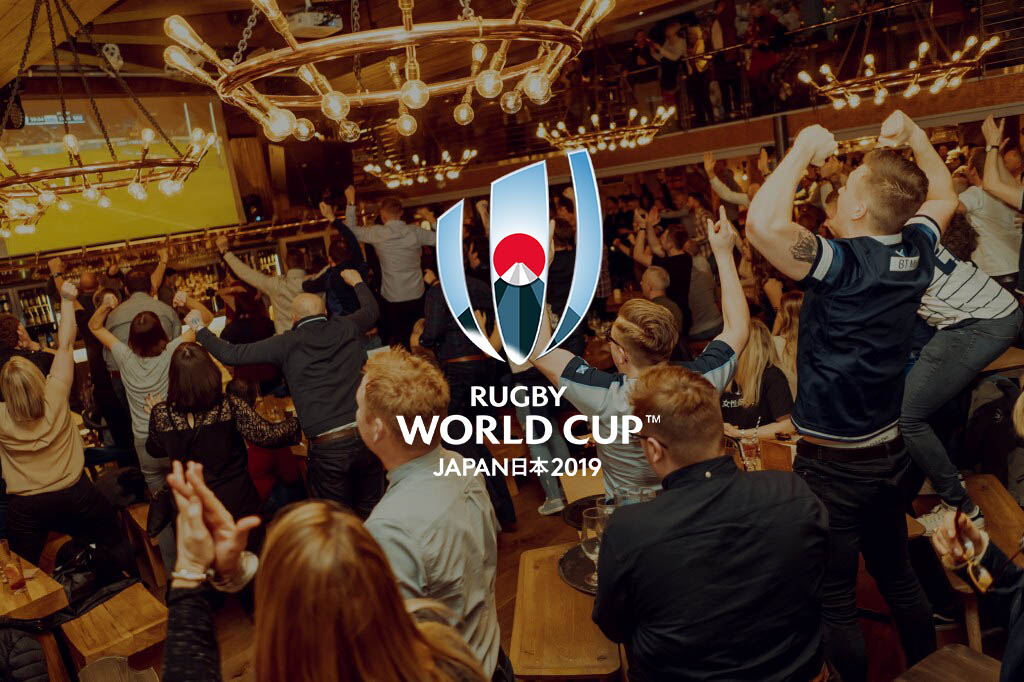 Rugby World Cup at Brewhemia Edinburgh